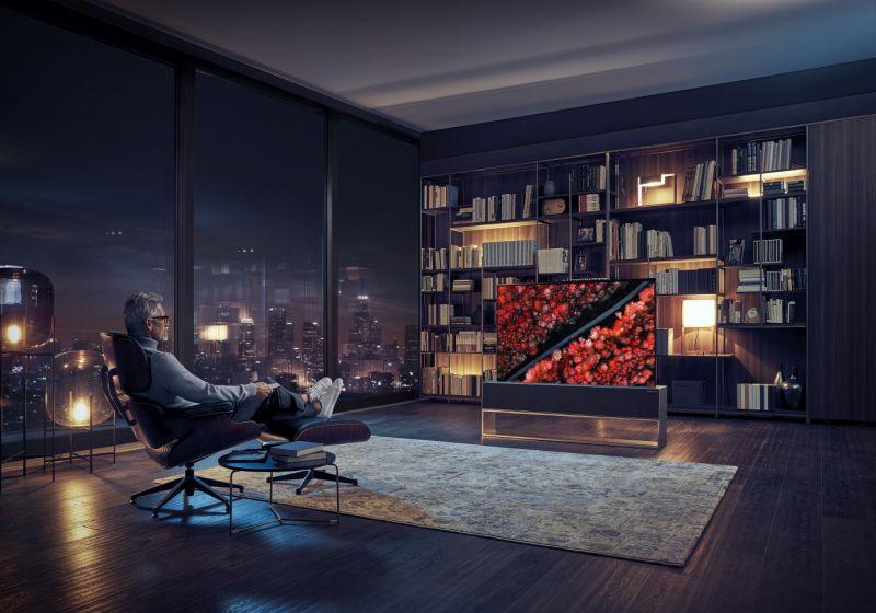 LG: rolowany telewizor OLED