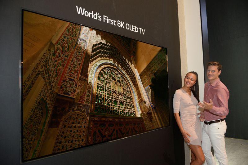 Pierwszy telewizor OLED 8K