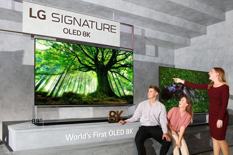 Telewizory LG OLED 8K