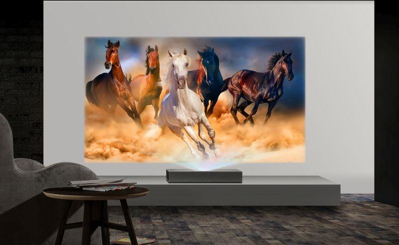 LG: nowe projektory