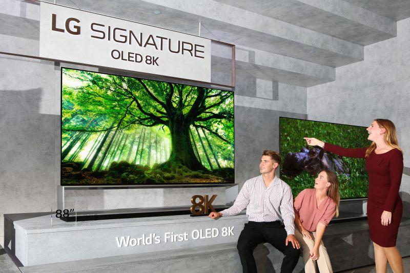 Pierwszy telewizor LG OLED