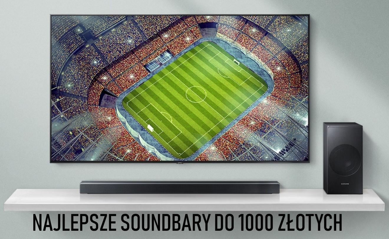 Najlepsze soundbary do 1000 złotych