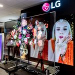 T-OLED | przeźroczysty LG OLED TV