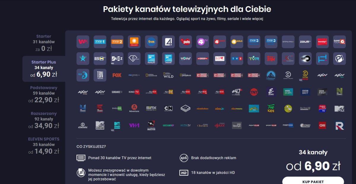 Gdzie oglądać telewizję online?