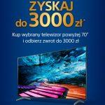 Kup telewizor i zyskaj do 3000 zł