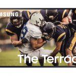Telewizor The Terrace i projektor The Premiere od Samsunga