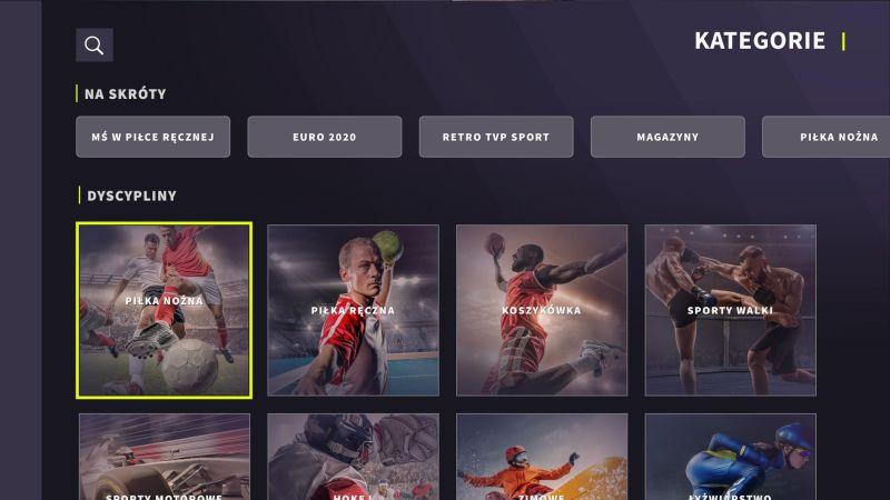 TVP Sport w Samsung Smart TV