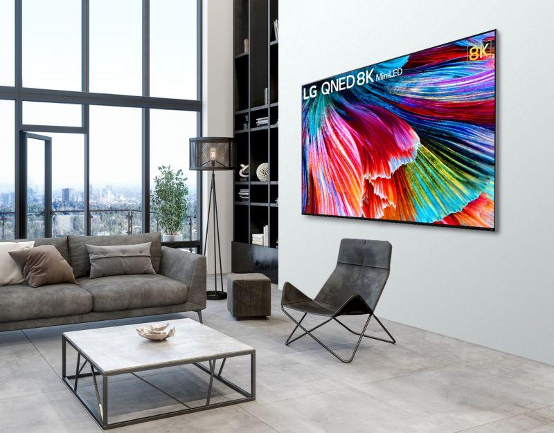Telewizory LG QNED