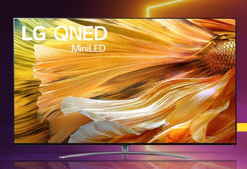 Telewizory LG QNED 4K